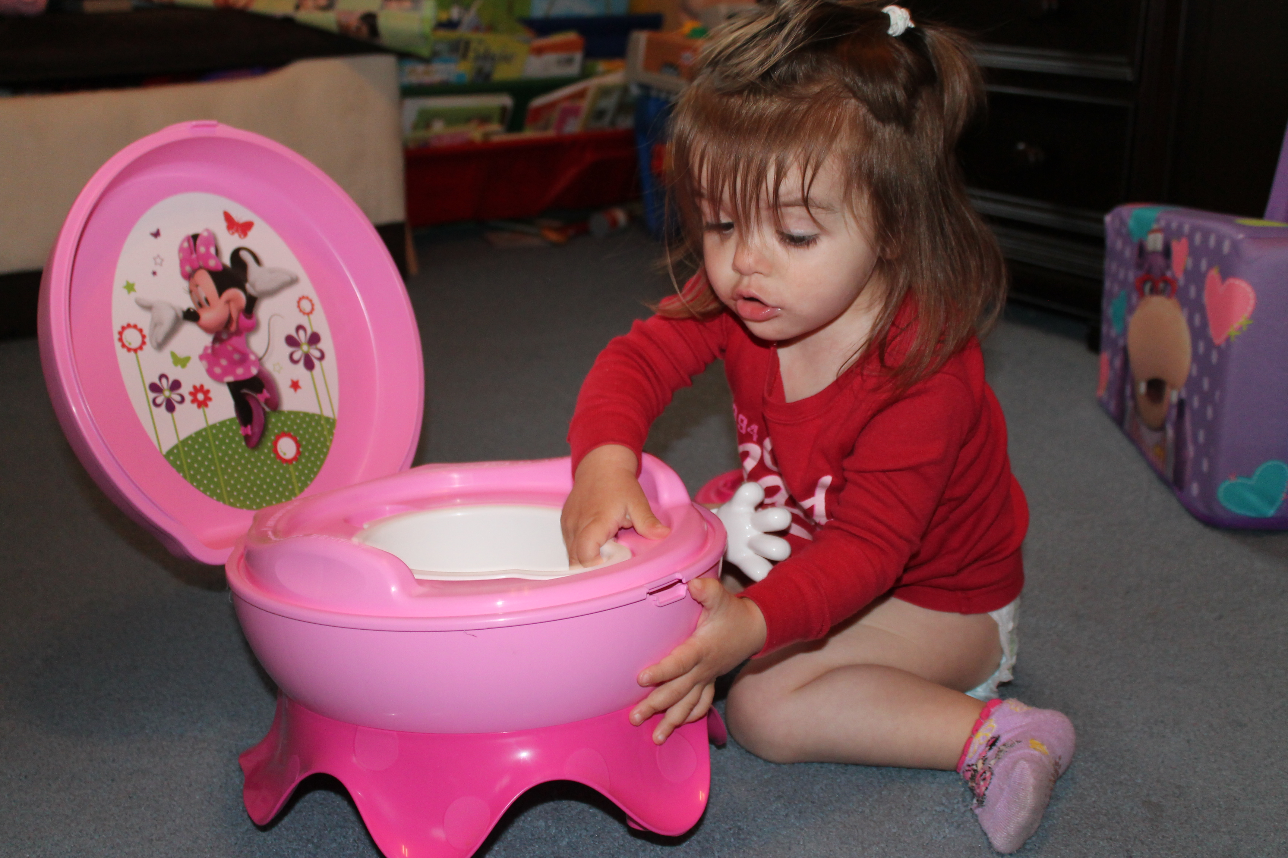 Potty Training Time With Mia-5486