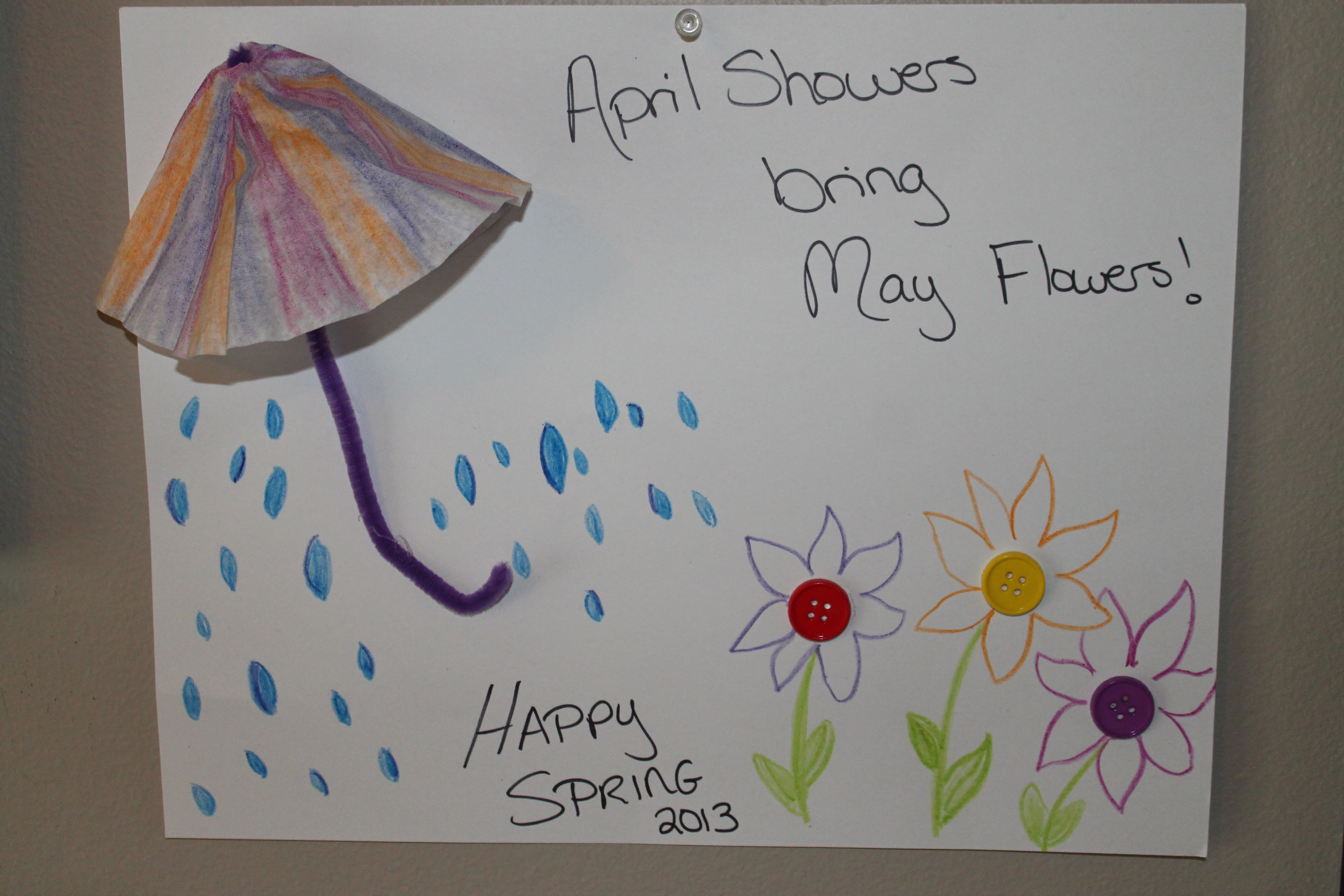 april showers bring may flowers crafts   galleryhip     the