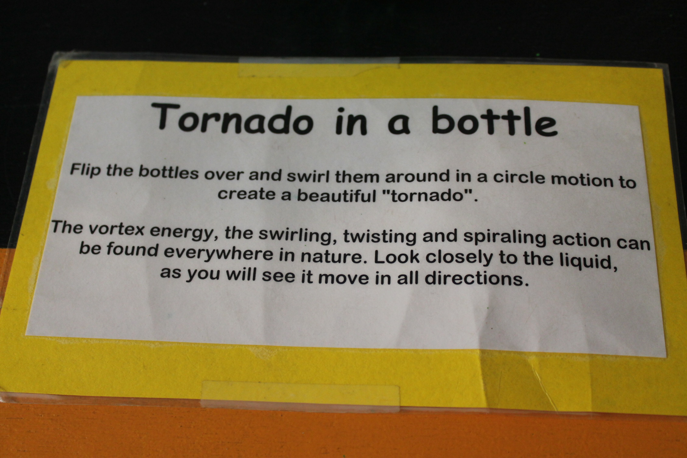 How would you write a paper on tornado