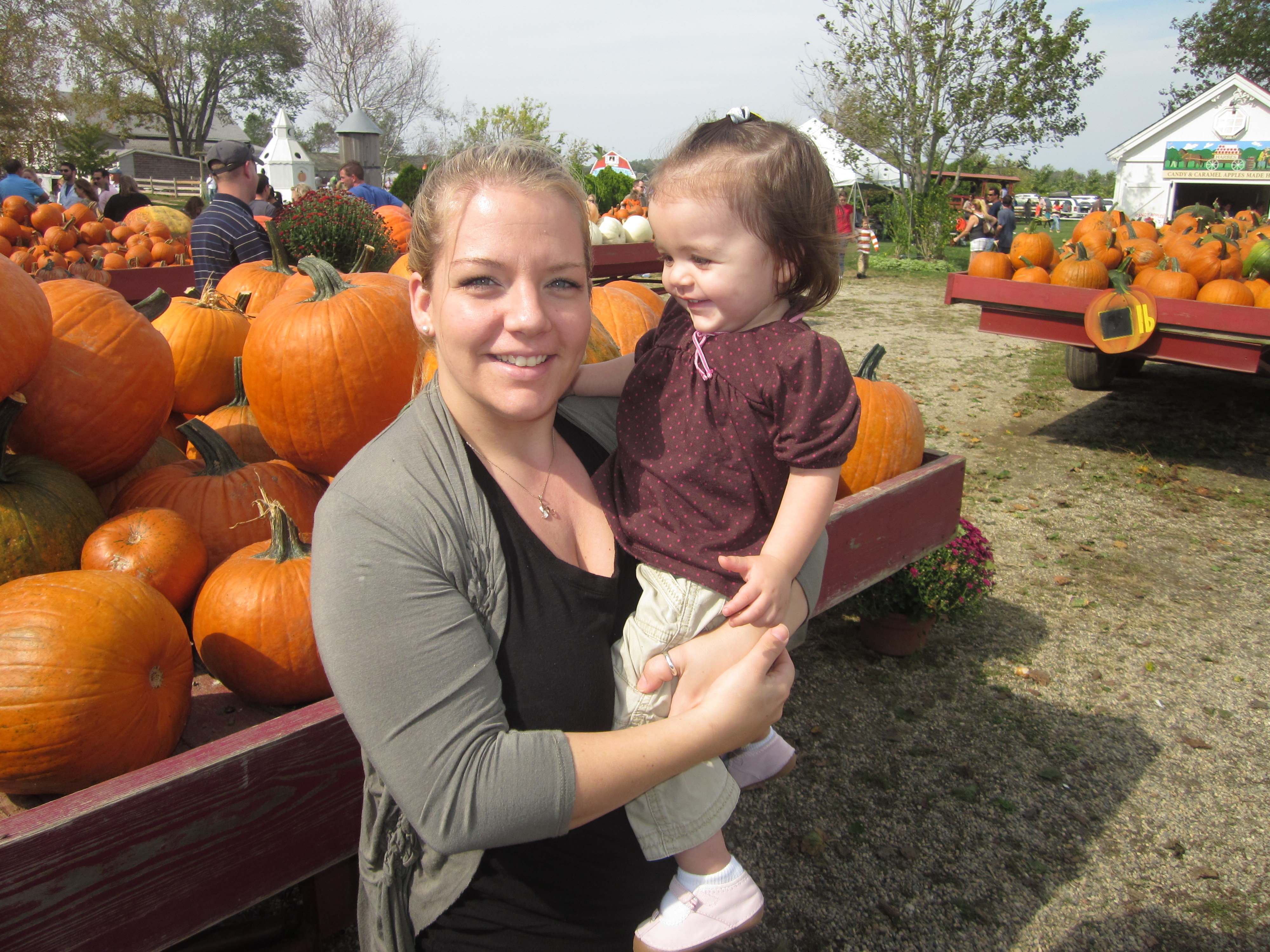 Pumpkin And Apple Picking Out East Long Island