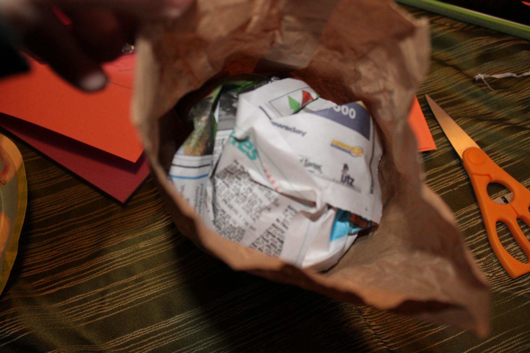 Paper Bag Turkey | momeefriendsli