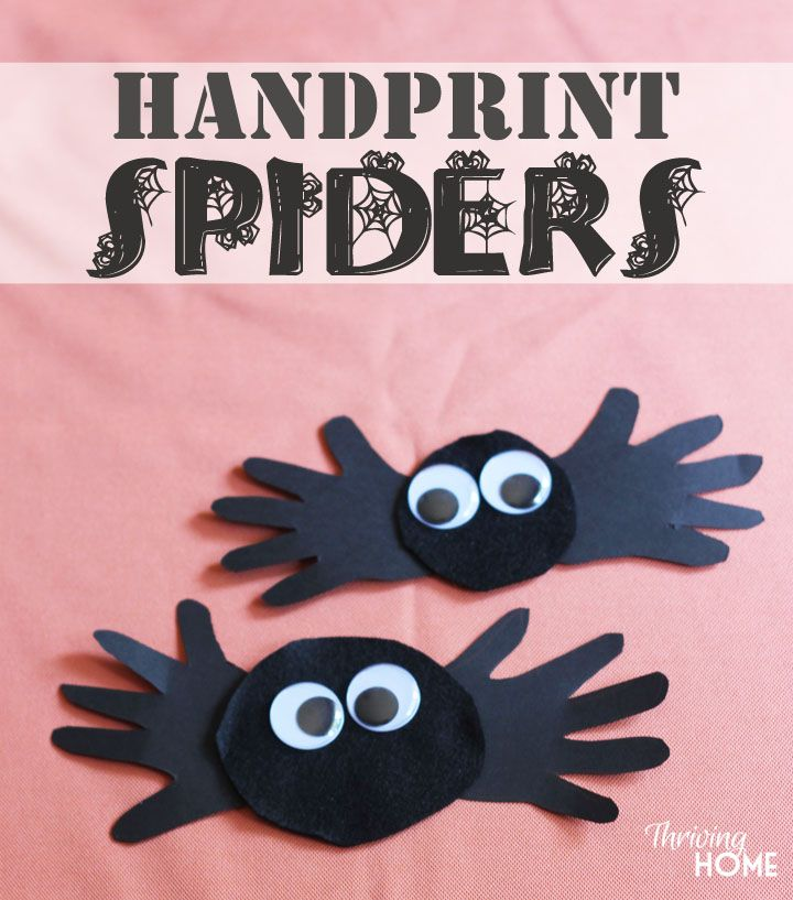 Halloween Handprint Footprint Crafts Momeefriendsli