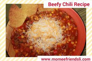 beefy chili