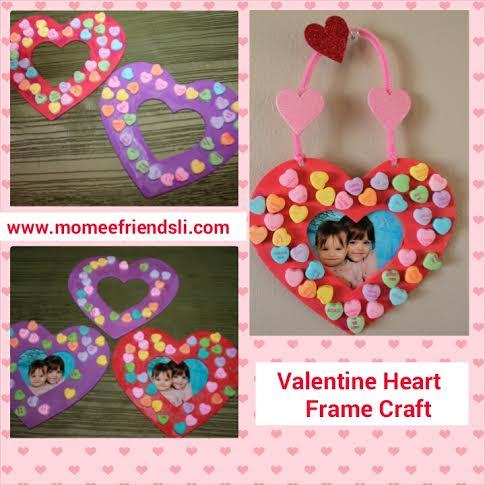 Frame momeefriendsli for Easy photo frame craft