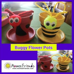 buggy flower pot