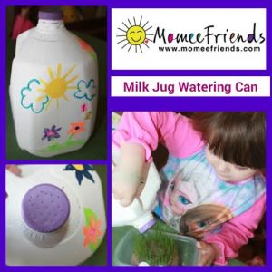 milk jug watering can