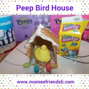 peep birdhouse craft