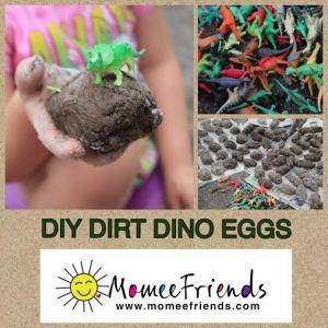diy dino eggs