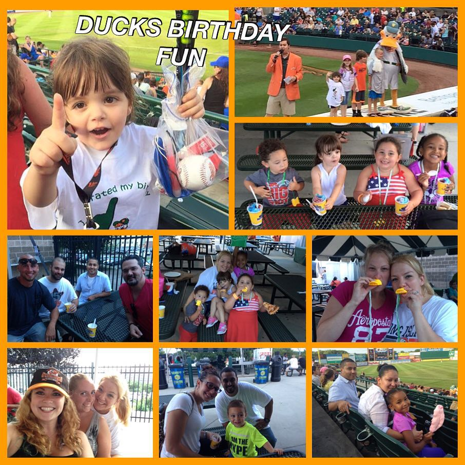 Long Island Ducks Birthday Party