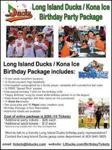 ducks birthday party