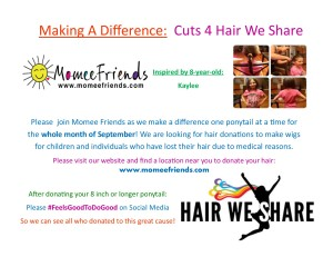 hair we share campaign