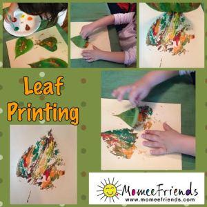 leaf printing 1