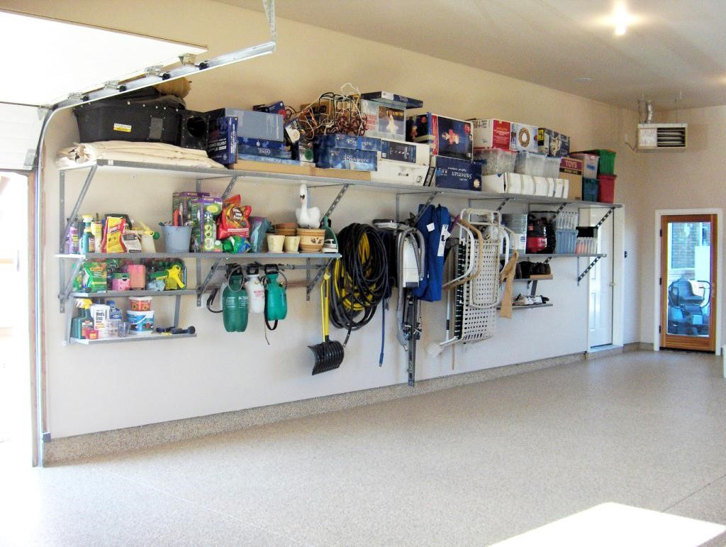 How To Organize A Garage Workshop