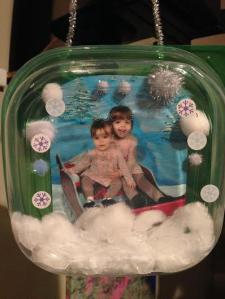 container snowglobe