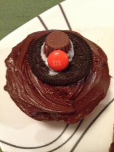 pilgrim hat Cupcakes 1