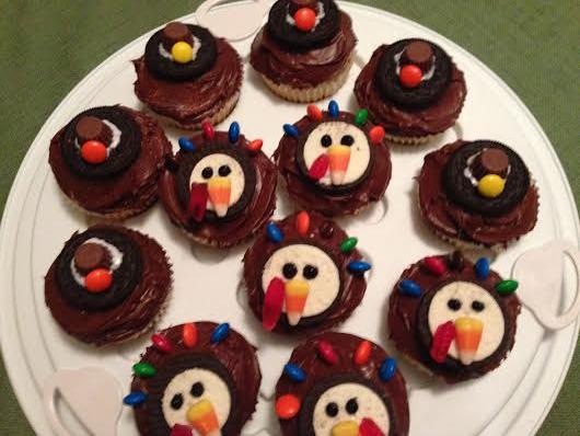 thanksgiving cupcakes 1