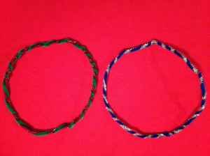 tinsel headbands 1