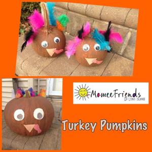 turkey pumpkins photo