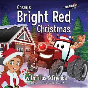 caseys bright red christmas