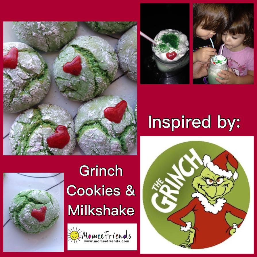 Grinch Cookies Milkshake