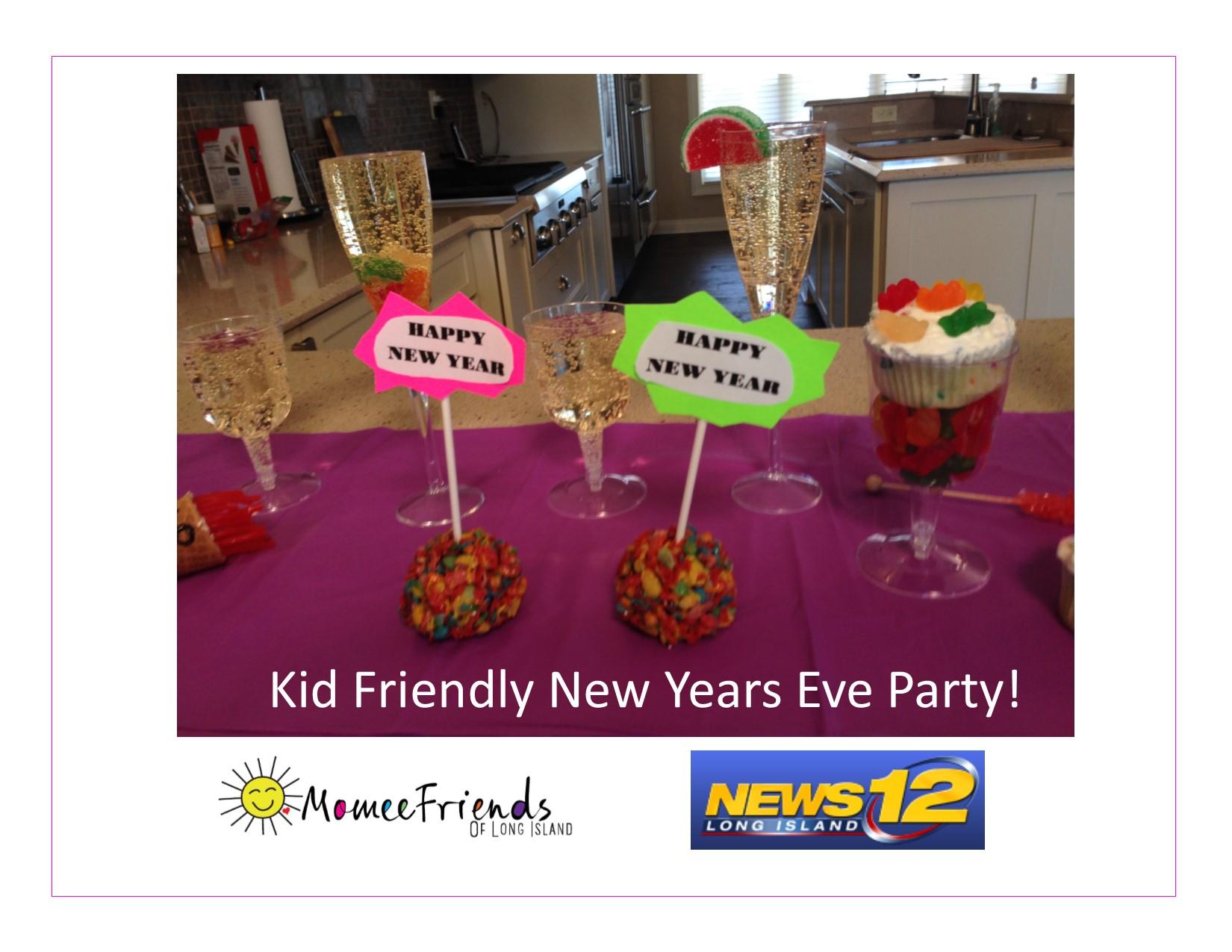 Kid Friendly New Years Eve