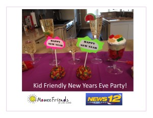 kid friendly new years eve party