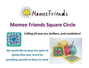 Momee Friends Square Cirlce