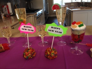 new year edible treats