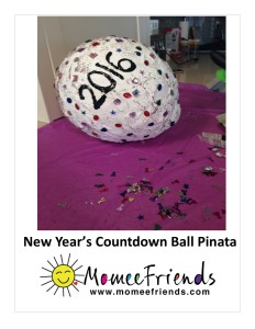 new years eve countdown pinata