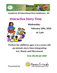 Interactive Story TIme- February 2016