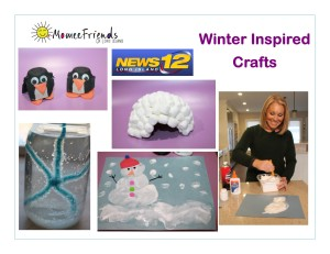 winter inspired crafts