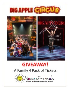BIG APPLE CIRCUS GIVEAWAY april 2016