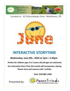 June Story Time at Sweetbriar