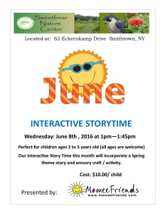 June Story Time at Sweetbriar