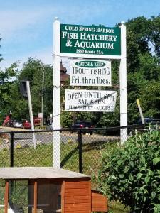 hatchery sign