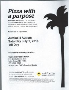 justice 4 autism flyer july 2nd