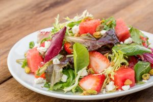strawberry salad 1