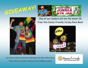 Jungle Gym Jam giveaway