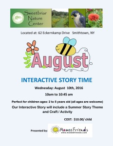 August Story Time
