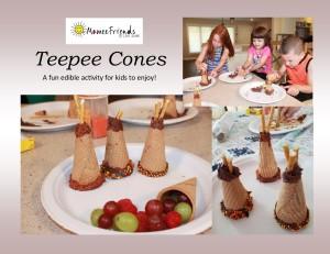 teepee-cones