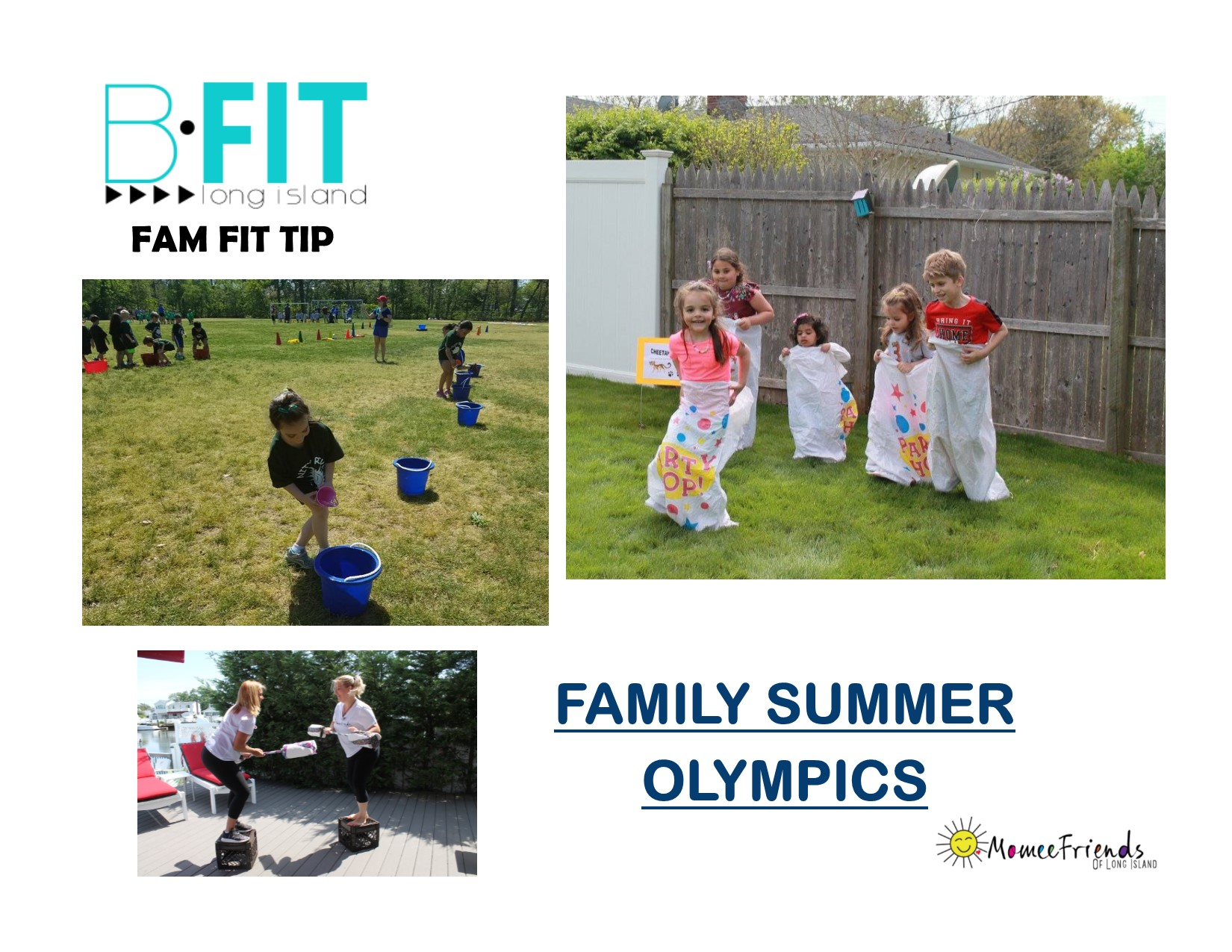 Family summer olympics momeefriendsli it is summer and a great time to head outdoors and get active with your family solutioingenieria Choice Image