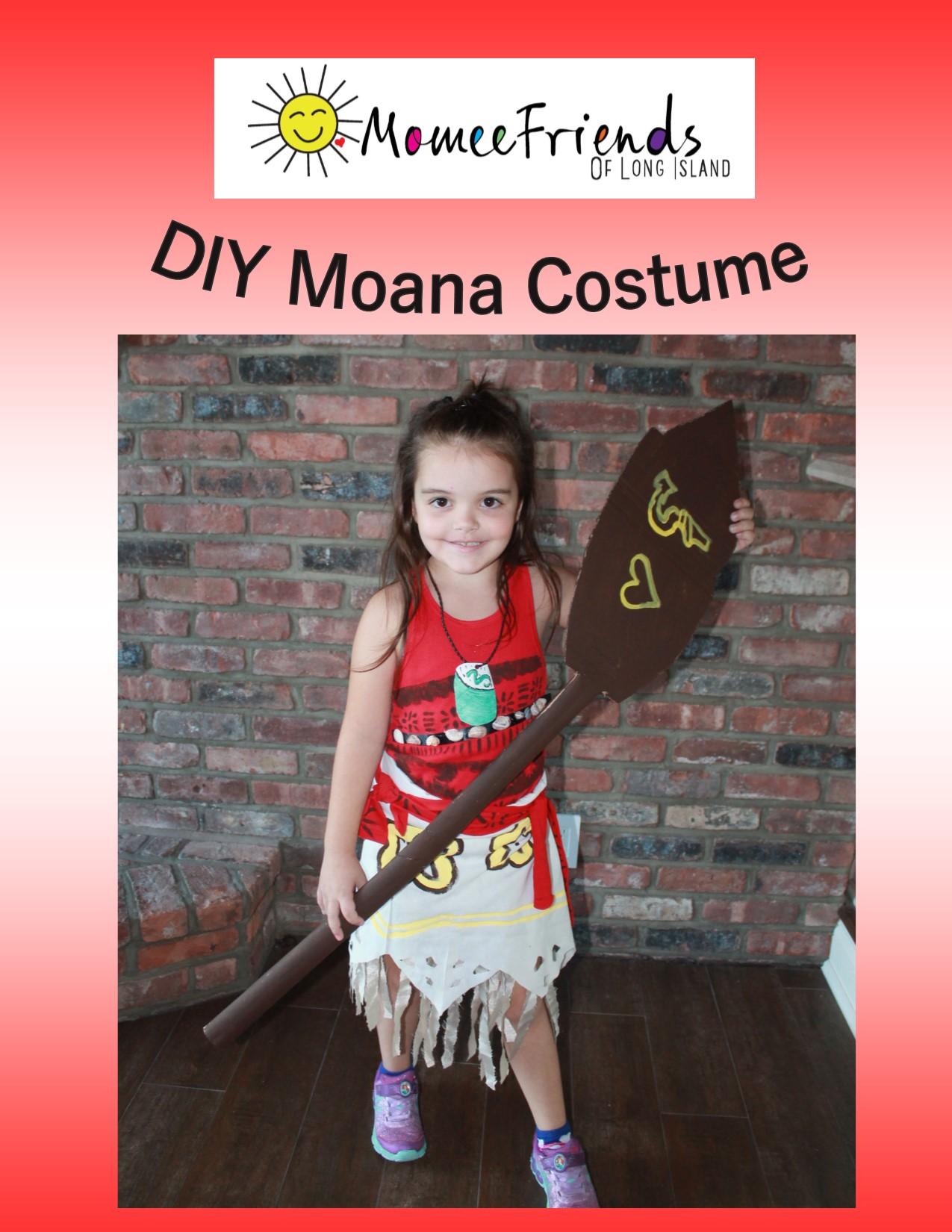 how to make a moana costume
