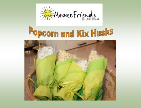 popcorn and kix husks
