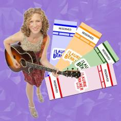 laurie berkner tickets