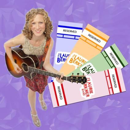 laurie berkner tickets