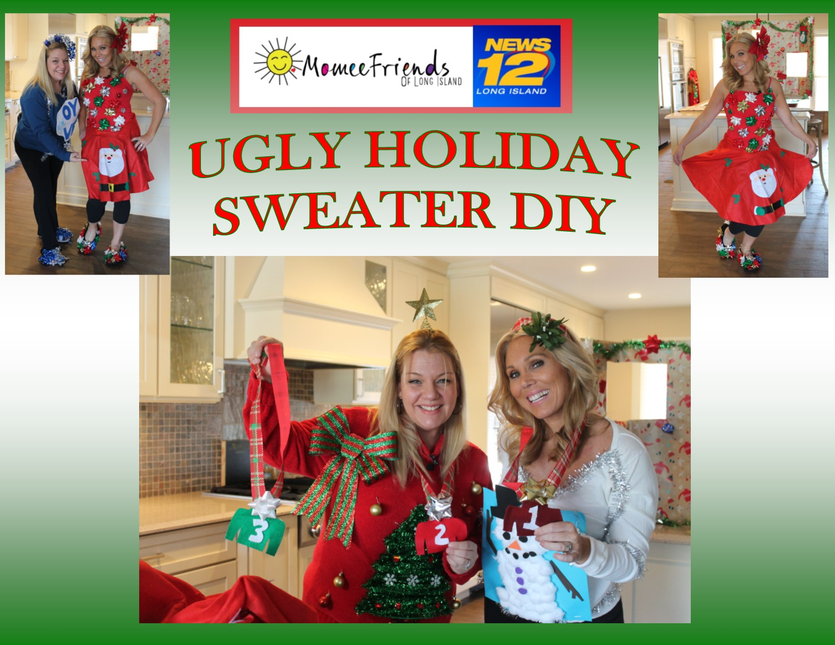Ugly Christmas Skirt Ideas.News 12 Ugly Holiday Sweater Diy