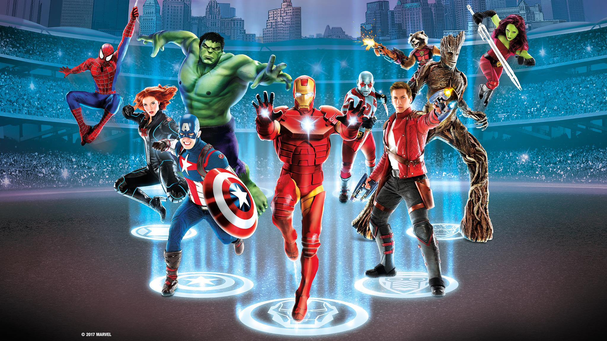 Marvel Malvorlagen Marvel Superhero The Marvel Super: Marvel Universe LIVE! Super Hero Training Camp