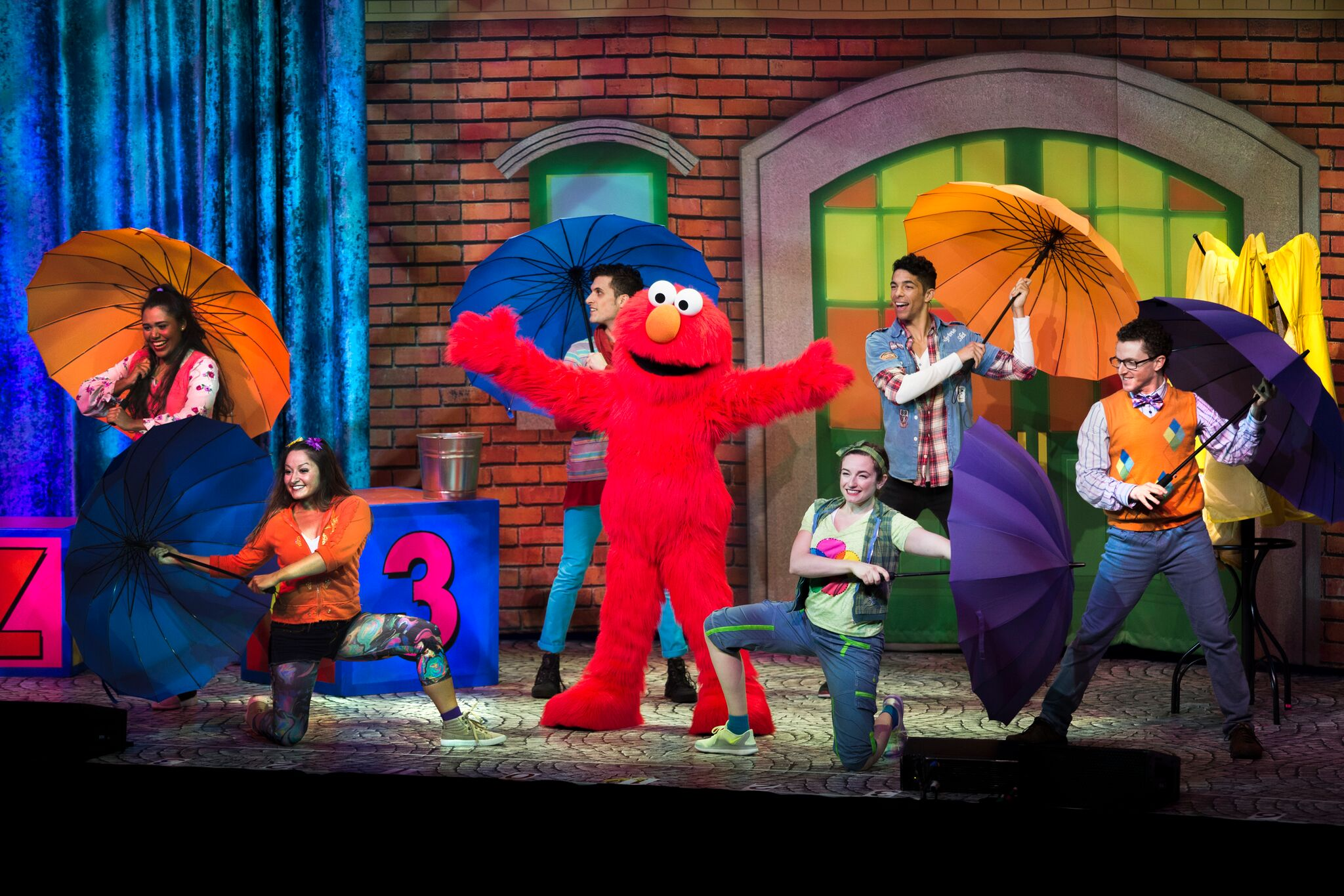 Sesame street live playing at the theater at madison - Sesame street madison square garden ...