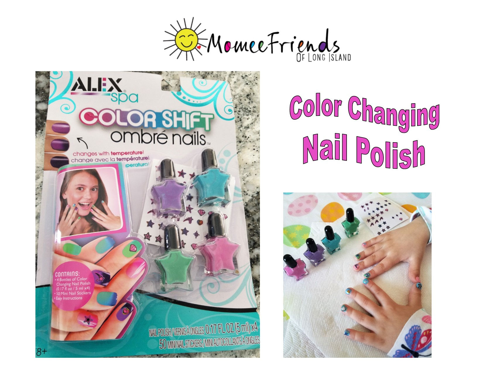 ALEX Spa Color Shift Ombré Nails | momeefriendsli
