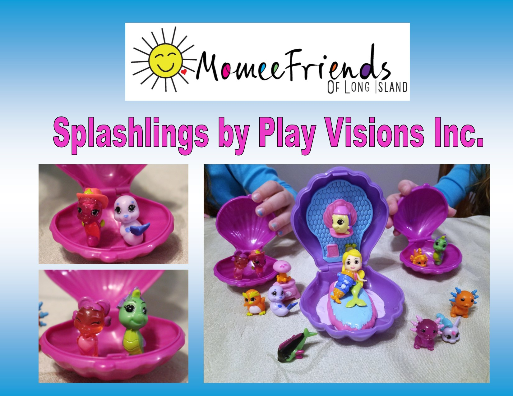 there are so many playsets and collections in the splashlings world for you to collect my girls are huge fans of these sets with mermaids ocean creatures